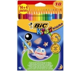 Bic Kredki Kids Evolution 18kol