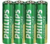 Philips Baterie R06 Long Life AA 1,5V