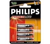Philips Baterie alkaliczne Power Life AAA 1,5V