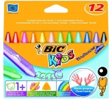 Bic Kredki Kids Plastidecor Triangle 12kol