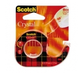 3M Scotch Taśma Crystal Transparent 19mmX7,5m